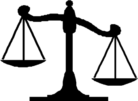 Image of the balance of justice