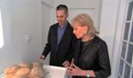 Photo of Dr. Robert Lanza with Barbara Walters
